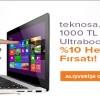 TeknoSA %10 İndirimli Ultrabook Kampanyası