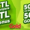 Gold Bilgisayar'dan 100 TL Gold Bonus