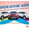 Özdilek Park'tan 3 Kişiye Range Rover Evoque