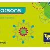 Watsons Card'tan Tam 2015 Puan Hediye