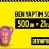 Genç Turkcell' den Ben Yaptım 500 Kampanyası