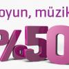 Enpara.com'da Bu Yıl Da Oyun, Eğlence ve Müzik Yüzde 50 İndirimli