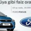 Ford Ocak Ayı Kampanyasında Yüzde Sıfır Faiz