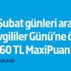 İş Bankası'ndan Sevgililer Gününe Özel 60 TL Maxipuan