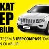 Şahin Sucuk'tan 3 Kişiye Jeep Kazandıracak Çekiliş Kampanyası