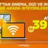 D-Smart'tan Sinema, Dizi ve İnternet Keyfi Ayda Sadece 39 TL
