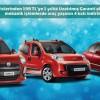 Fiat Kış Servis kampanyasında Araç Yaşınızın 4 Katı Kadar indirim
