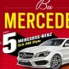 Nescafe'den Çekiliş ile 5 Mercedes-Benz