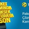 Turkcell'den Paket Aşımına Çözüm Kampanyası