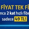 Turkcell Superonline'dan 2 Kat Hızlı Fiber İnternet 49 TL