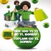 Bonus Bahar Kampanyasında 100 TL' lik Alışverişinize 10 TL, Toplam 50 TL Bonus Hediye