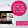 Kliksa'dan LG HD TV Alana Digiturk Üyeliği Hediye