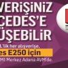 M1 Merkez Adana AVM Mercedes Çekilişinin Sonuçları