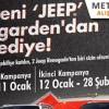 Metrogarden AVM 2. Dönem Jeep Renegade Çekiliş Sonuçları