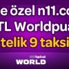 N11.com'da World Kart'a Özel 111 TL Worldpuan!
