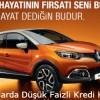 Renault Mart Ayına Özel Düşük Faizli Kredi Kampanyası