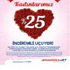 AnadoluJet' ten Kadınlar Günü' ne Özel Yüzde 25 İndirim