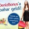 Market ve Giyim Alışverişlerini Deniz Bonus İle Yapanlara 50 TL Bonus Hediye