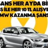 Akbank Axess Mart Ayı BMW Çekilişinin Sonuçları