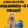 Axess Kart ile Giyim Alışverişlerinize Artı 4 Taksit İmkanı
