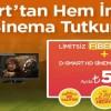 D-Smart'tan İnternet ve Sinema-Dizi Paketi Ayda 59 TL