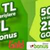 Gold Bilgisayar'dan Bonus Karta 50 TL Bonus