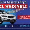 Kayseri Park AVM BMW X1 Çekilişinin Sonuçları