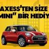 Axess'ten Yeni Kart Sahiplerine Mini Cooper Çekilişi