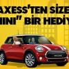 Axess Kredi Kartından 2 Kişiye Mini Cooper Hediye Kampanyası