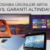 Teknosa'dan Toshiba Ürünlerine 5 Yıl Garanti Kampanyası