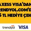 Axess Kredi Kartı Sahiplerine Trendyol'da Geçerli 25 TL'lik Hediye Çeki