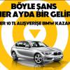 Akbank Axess Haziran Ayı BMW Çekilişi