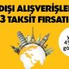 Axess'ten Yurt Dışında Faizsiz Ücretsiz Taksit Kampanyası