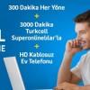 Turkcell Superonline'dan Kablosuz, HD Ekranlı Ev Telefonu ve Konuşma Paketi Ayda 23,99 TL