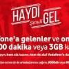 Vodafone Gelenler de Davet Edenler de Kazanıyor