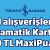İş Bankası Bankamatik Kartınıza Okul Alışverişleri için 30 TL Maxipuan!