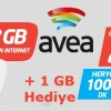 Avea'dan Ek 1 GB İnternet Kampanyası