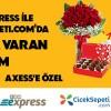 Axess Kart'a BKM Express Aracılığı ile Ciceksepeti.com'da %30 İndirim