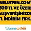 Axess'ten Annelutfen.com'a Özel 25 TL İndirim