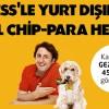 Axess'ten Yurtdışı Alışverişlerine Özel 50 TL Chip Para