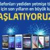 Turkcell'den Akıllı Telefon Kampanyaları