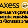 Axess'ten Emlak ve Çevre Temizlik Vergilerine 5 Taksit Avantajı