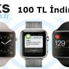 Bimeks'ten iPhone Alanlara Apple Watch'a Özel 100 TL indirim Fırsatı