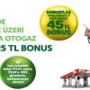 Bonus Kart'tan Petrol Ofisi'ne Özel 25 TL Bonus Hediye