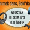 Gold.com.tr'de Avea Woops'a Özel 25 TL İndirim