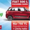 Hünnap İlaç Fiat 500L Çekiliş Kampanyası