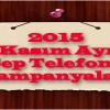 2015 Kasım Ayı Cep Telefonu Kampanyaları