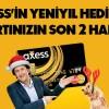 Axess'ten Yeni Yıl Kampanyası: Kart numaranızın Son 2 Hanesi Değerinde Chip-Para