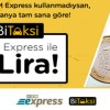 BKM Express ile Bitaksi 1 TL