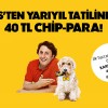 Axess'ten Yarıyıl Tatiline Özel 40 TL Chip Para